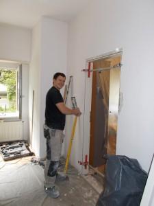 Bild von einem ehrenamtlichen Handwerker