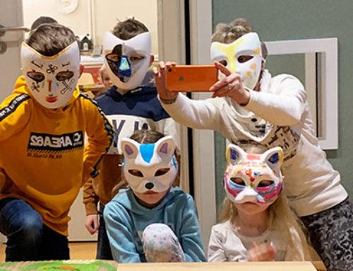 """""""Eine Maske erzählt uns mehr als ein Gesicht"""" – Oscar Wilde"""