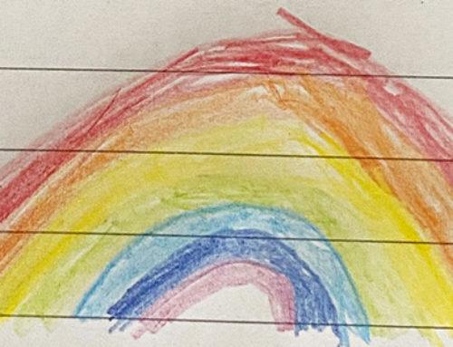 Gedicht von Mahdi Kheir: Der Regenbogen