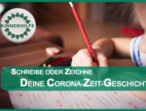 AUFRUF: Schreibt, malt, gestaltet eure Coronazeit-Geschichten