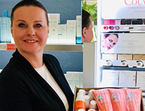 Danke für die tolle Spende von Pierre Fabre Dermo-Kosmetik GmbH