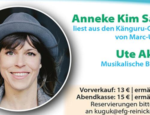 KINDERHILFE e.V. Benefiz am 06.11.2020 – mit Anneke Kim Sarnau und Ute Akrutat