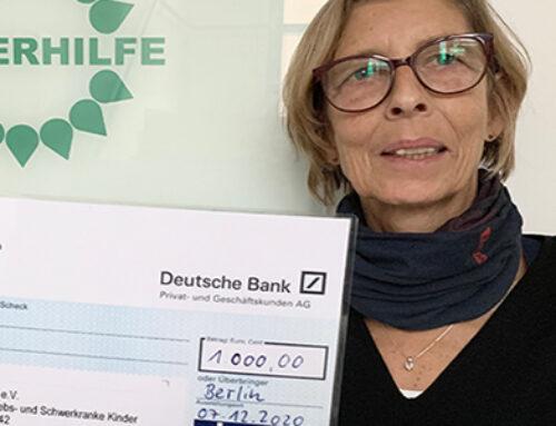Institut Kirchhoff Berlin GmbH spendet 1000 €