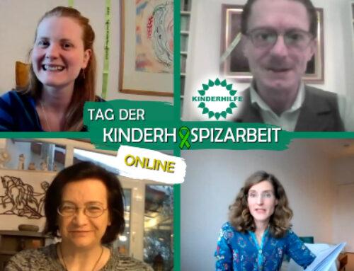 Rückblick und Videos zur Online-Veranstaltung zum Tag der Kinderhospizarbeit am 10.02