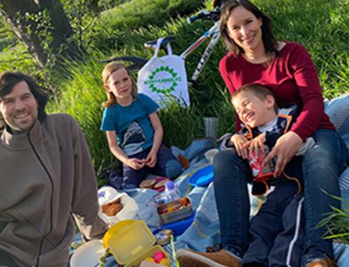 Picknick für Familien
