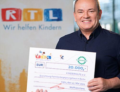 RTL bedenkt uns mit 20.000 €