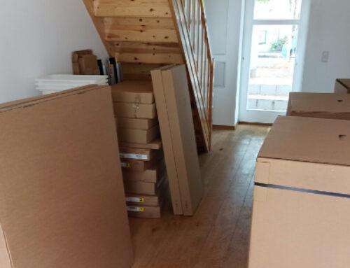 Möbelempfang für unser Barbara-Schulz-Haus