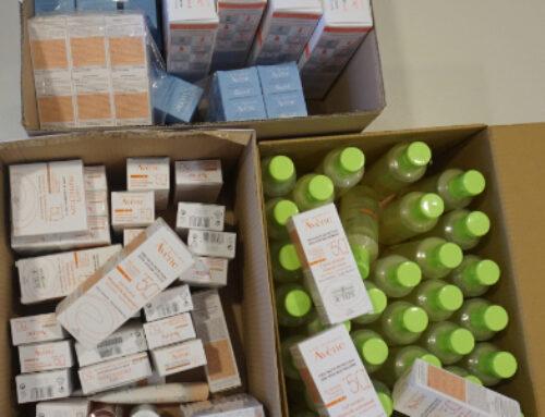 Vielen Dank für die diesjährige Spende von Pierre Fabre Dermo-Kosmetik GmbH