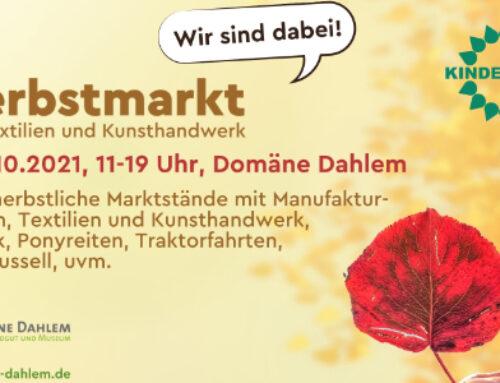 Herbstmarkt bei der Domäne Dahlem